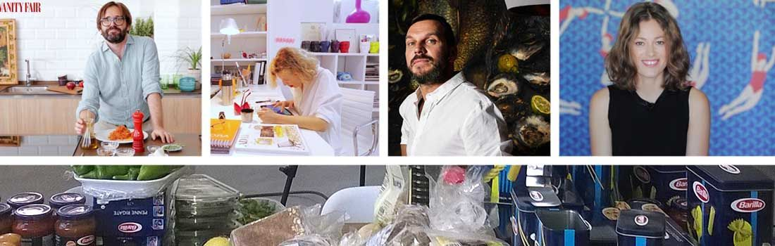 Barilla y Vanity Fair en Cocinea
