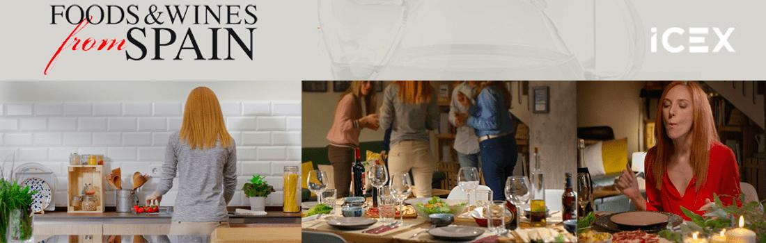 Alimentos y vinos de España… ¡rodaje en Cocinea!