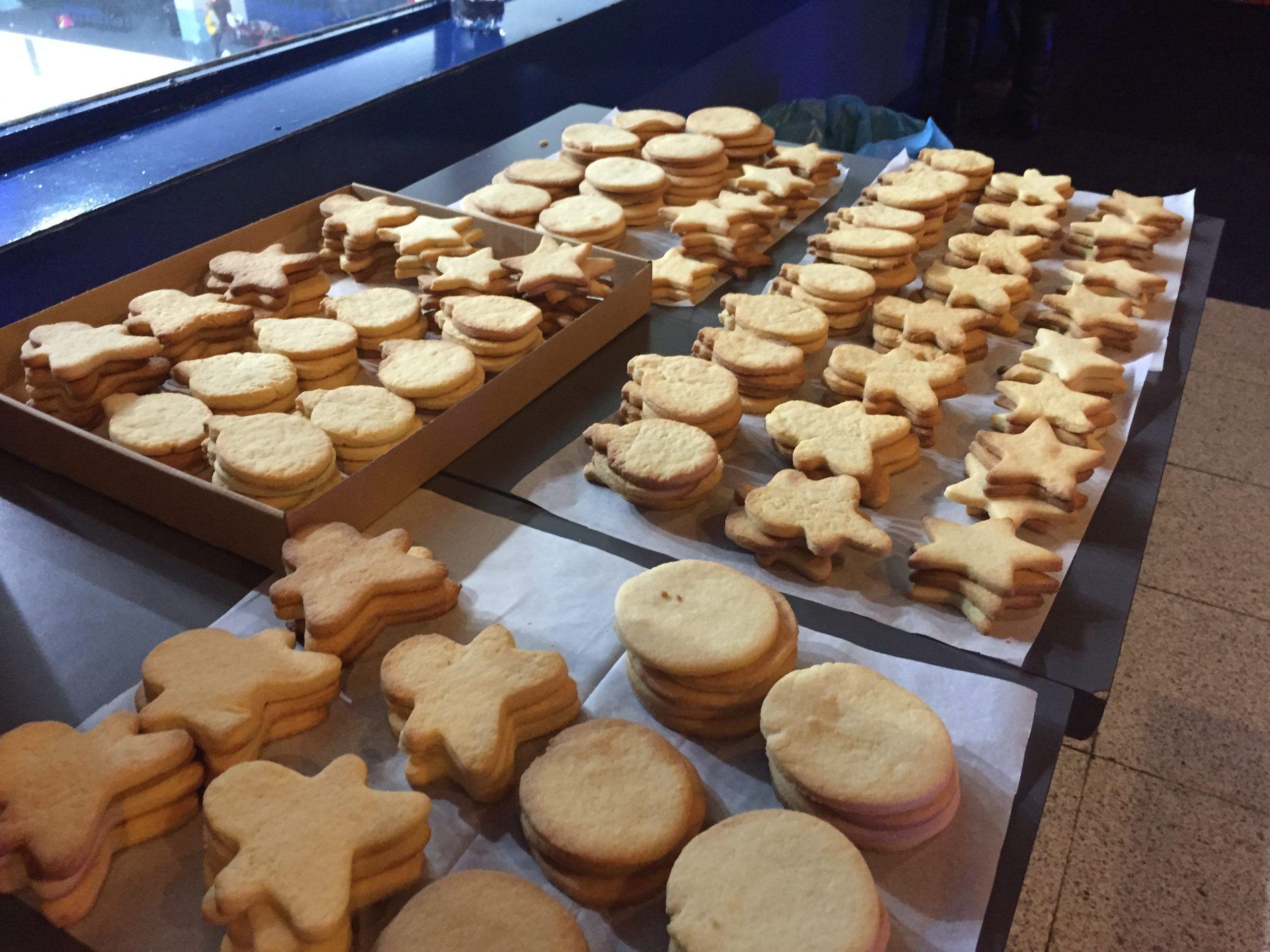 Decoración de galletas para el pre-estreno de Paramount Pictures