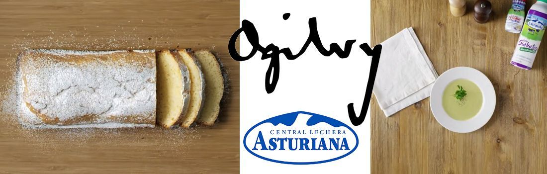 Central Lechera Asturiana y Ogilvy en Cocinea
