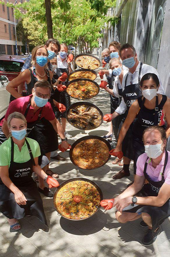 actividades teambuilding de cocina