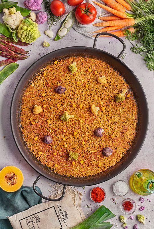 curso de paella de verduras madrid